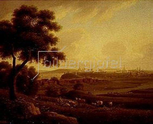 Nikanor Grigorj Tschernezow: Kazan an der Wolga. Um 1830.