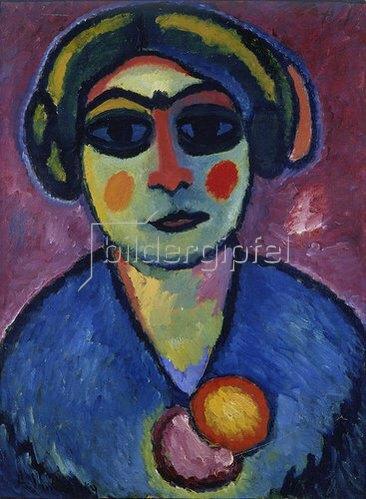 Alexej von Jawlensky: Dunkle Augen. 1912