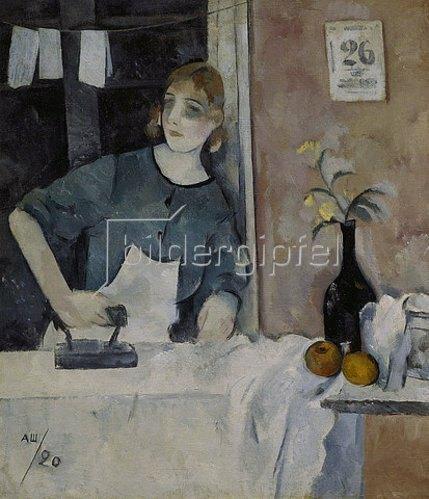 Alexander Schewtschenko: Die Büglerin. 1920.