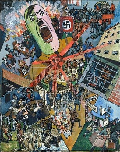 Heinrich Vogeler: Das Dritte Reich. 1934
