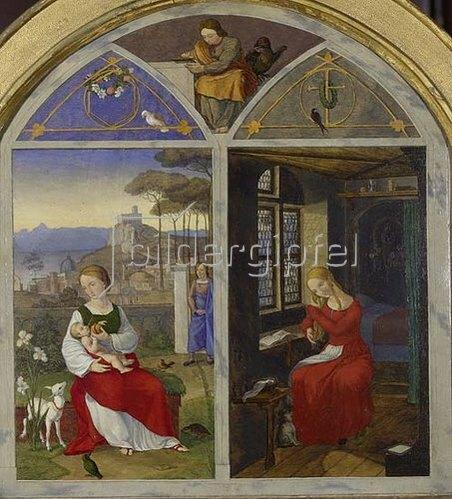 Franz Pforr: Sulamith und Maria. 1811.