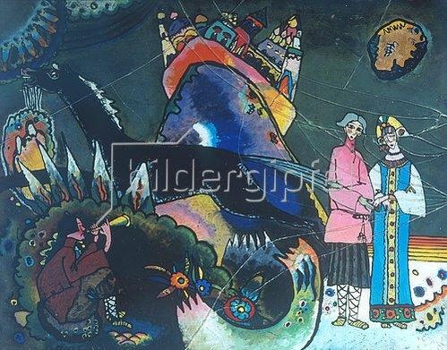 Wassily Kandinsky: Goldene Wolke. 1918.