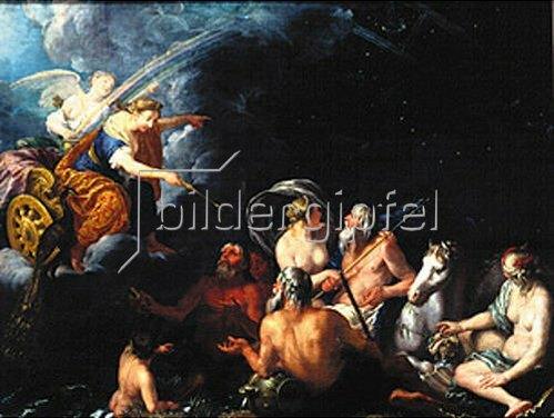 Johann Heiss: Mythologische Szene.