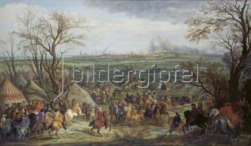 Adam Frans van der Meulen: Das Lager von Cambrai. 1677.