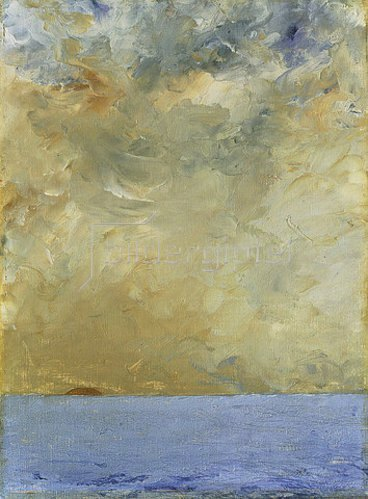 August Strindberg: Sonnenuntergang.