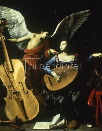 Carlo Saraceni: Die hl.Cäcilia. Um 1600-20