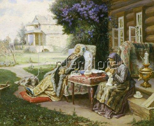 Wassilij Maksimow: Alles ist Vergangenheit. Um 1889.
