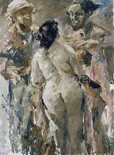 Lovis Corinth: Susanna und die beiden Alten. 1923
