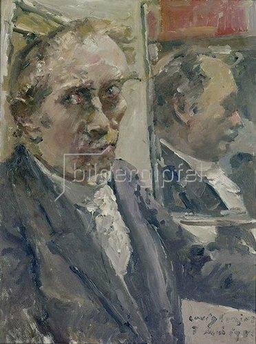Lovis Corinth: Letztes Selbstbildnis. 1925.