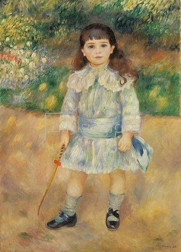 Auguste Renoir: Kind mit Peitsche. 1885.