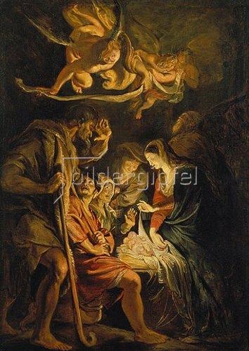 Peter Paul Rubens: Die Geburt Christi. 1608