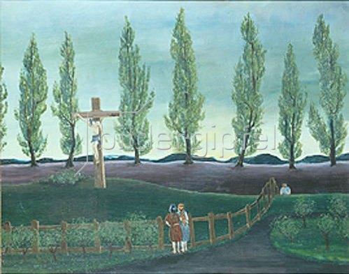 Joachim Ringelnatz: Der Mann am Kreuz.