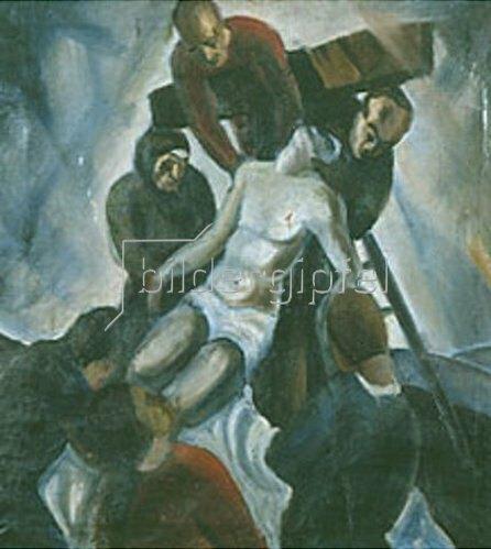 Alois Wach: Kreuzabnahme. 1935.