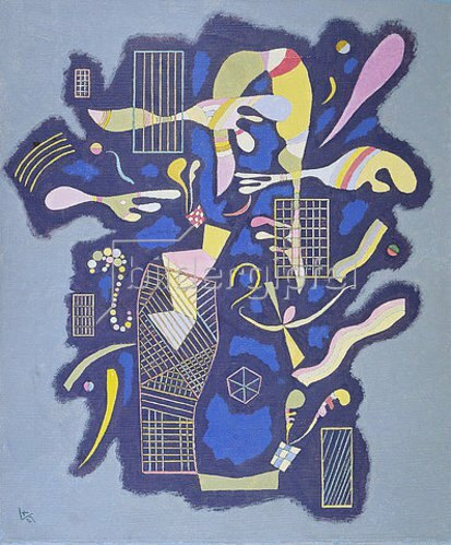 Wassily Kandinsky: Gitter und andere Formen (Grilles et autres). 1937