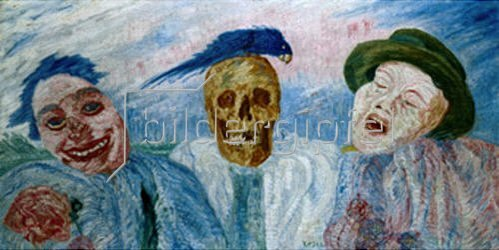 James Ensor: Tränen des Lachens.