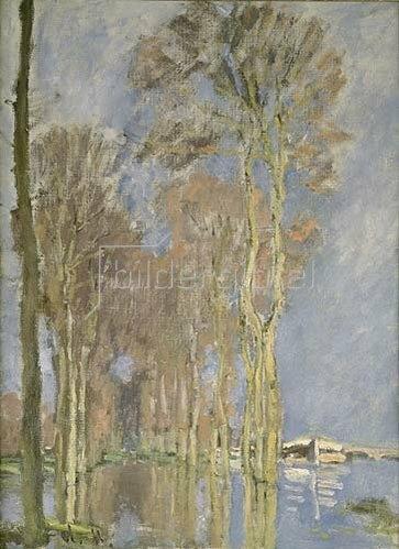 Claude Monet: Überschwemmung.