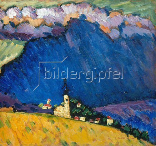 Wassily Kandinsky: Dünaberg. 1909