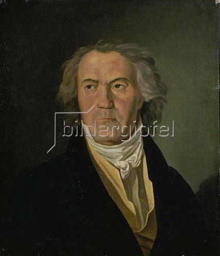 Ferdinand Georg Waldmüller: Bildnis Ludwig von Beethoven. 1823