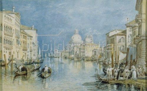 Joseph Mallord William Turner: Venedig, Canale Grande.