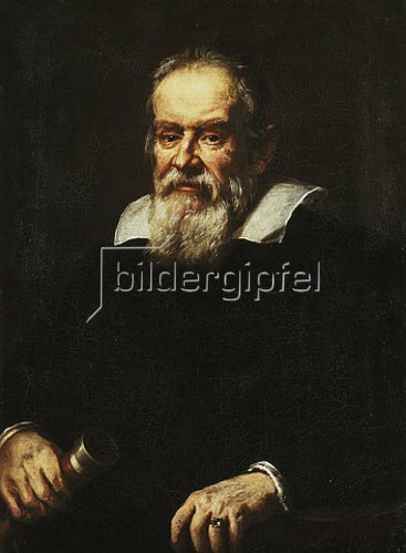 Justus Sustermans: Bildnis Galileo Galilei (1564-1642).