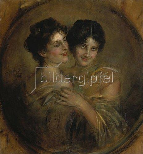 Franz von Lenbach: Zwei Schwestern. 1901