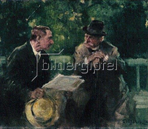 Friedrich Wahle: Konversation.