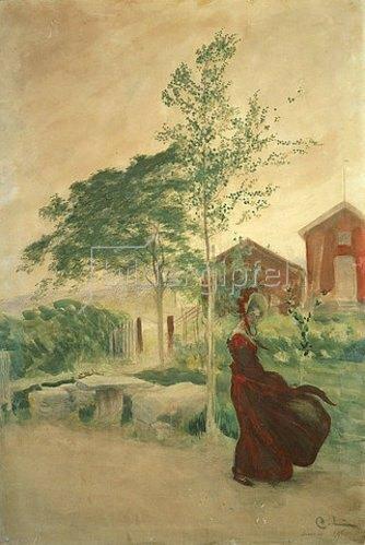 Carl Larsson: Stina. 1895