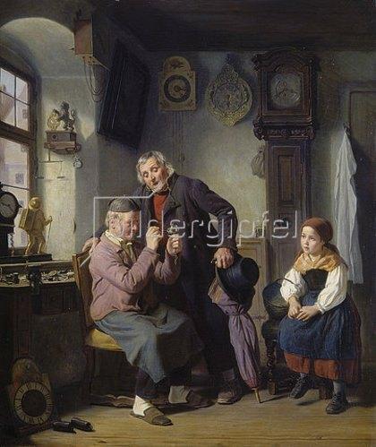 Hanno Rhomberg: Beim alten Schumacher. 1860.