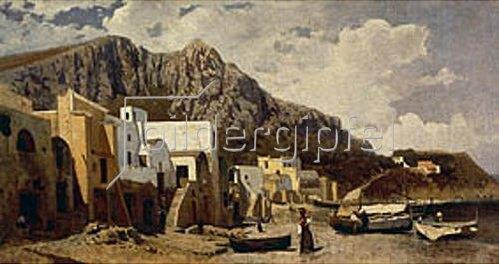 Guglielmo Ciardi: Capri. 1868.