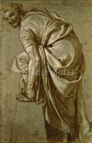 Girolamo Munziano: Sandalenbinder
