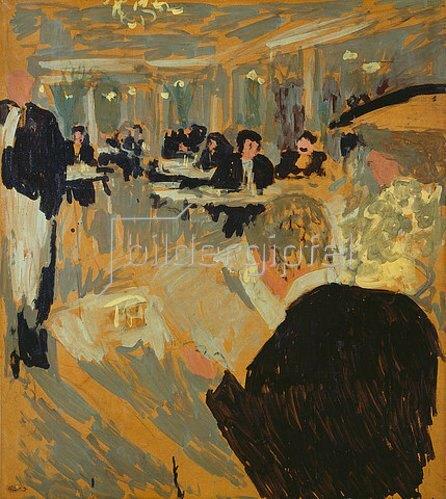 Edouard Vuillard: Im Café. Um 1903.
