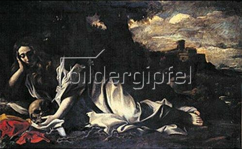 Giovanni Lanfranco: Die büßende Maria-Magdalena.