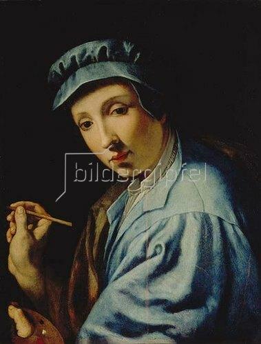 Alessandro (Bronzino) Allori: Selbstbildnis.