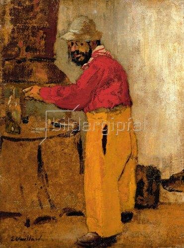 Edouard Vuillard: Henri de Toulouse-Lautrec bei den Nathasons in Villeneuve su Yonne