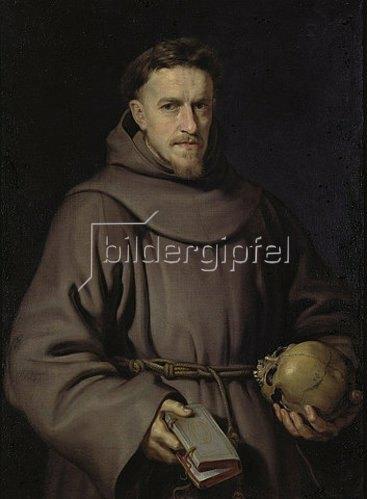 Peter Paul Rubens: Bildnis eines Franziskanermönchs. Um 1615