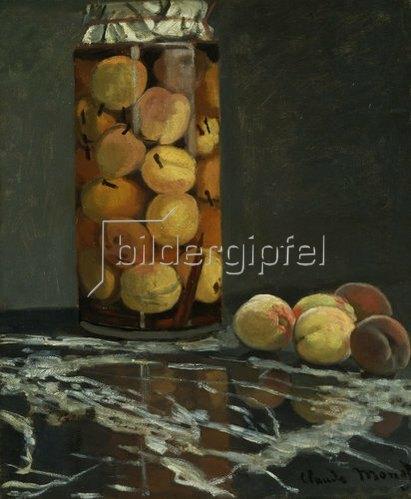 Claude Monet: Das Pfirsichglas. Um 1866.