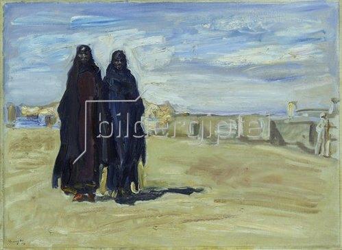Max Slevogt: Sudanesische Frauen. 1914.
