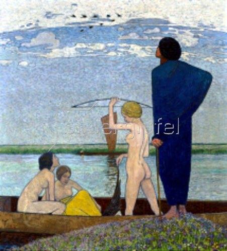 Heinrich Vogeler: Träume. 1911.