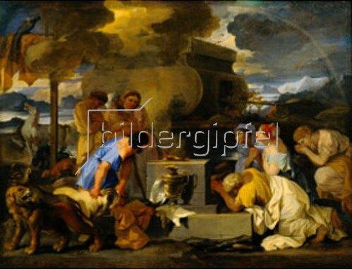 Sebastien Bourdon: Das Opfer Noah's.