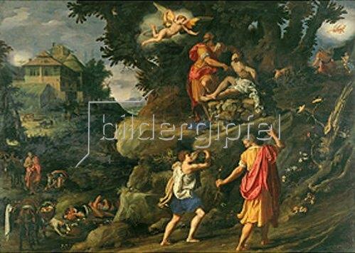 Alessandro (Bronzino) Allori: Die Opferung Isaacs.