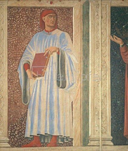 Andrea dal Castagno: Bildnis Giovanni Boccaccio.