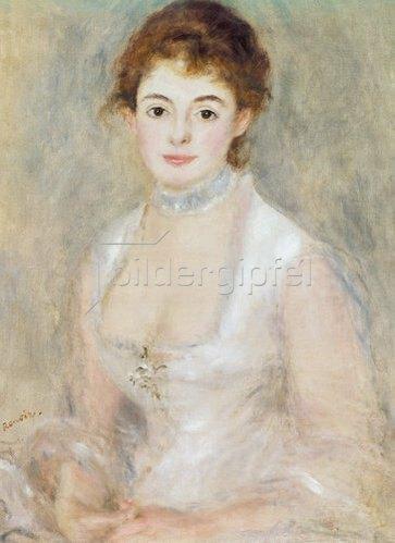 Auguste Renoir: Bildnis der Madame Heriot.