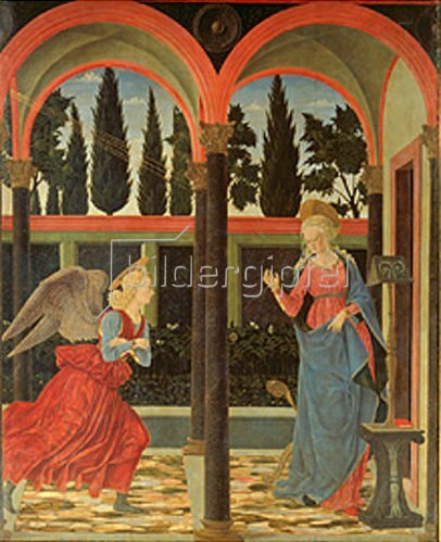 Alessio Baldovinetti: Die Verkündigung Mariae