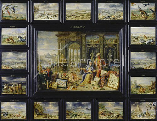 Jan van Kessel: Aus dem Zyklus Die vier Erdteile: Asien.