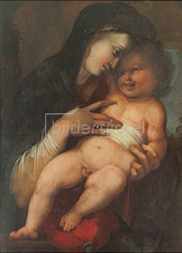 Alonso Berruguete: Madonna mit Kind.