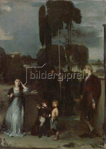 Hans von Marées: Römische Landschaft I. 1868