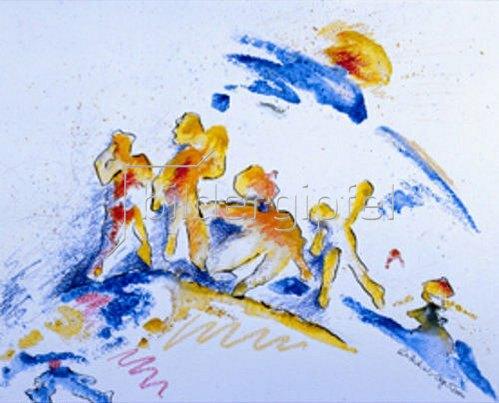 Annette Bartusch-Goger: Sonne.   2000
