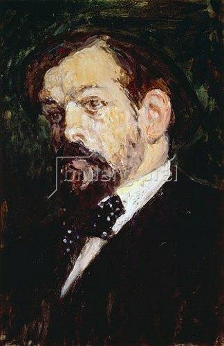 Jacques-Emile Blanche: Bildnis des Komponisten Claude Debussy. 1903