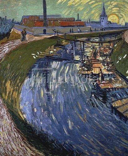 Vincent van Gogh: La Roubine du Roi. 1888