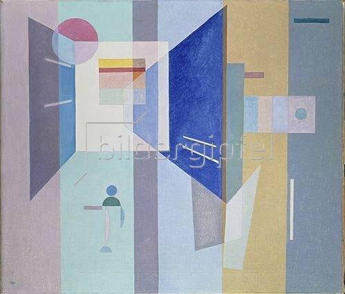 Wassily Kandinsky: Nach Rechts - nach Links    1932